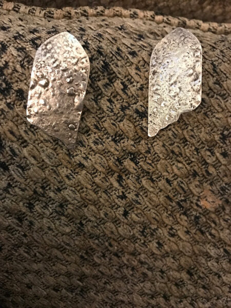 Angle Wings Earrings - Mary Page Jones Jewelry