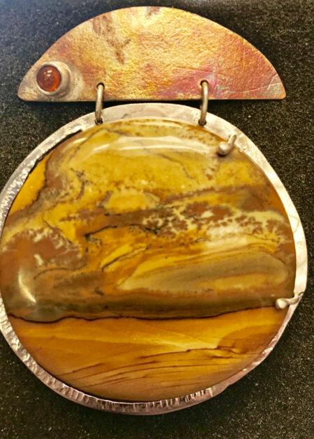 Desert Sky - Jasper Pendant - Mary Page Jones Jewelry