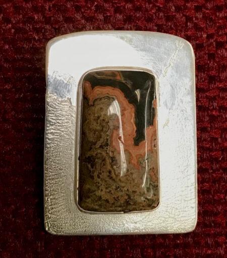 ndian Blanket Jasper Pendant - Mary Page Jones Jewelry