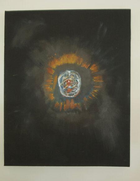 Eskimo Nebula Oil on Canvas - Bob Gordon Jones Art