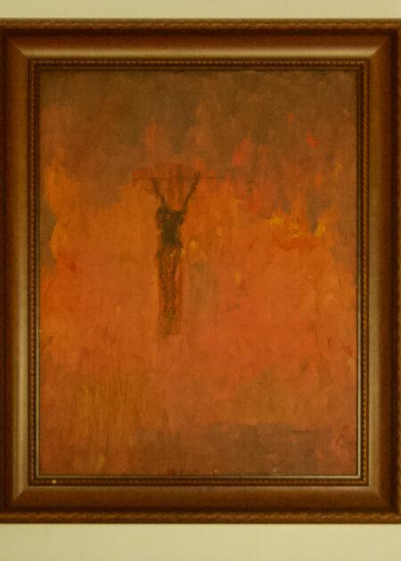 Life On Fire - Framed Oil Painting - Bob Gordon Jones
