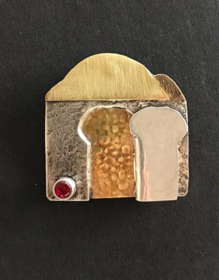 Monks Door Pendant - Mary Page Jones Jewelry