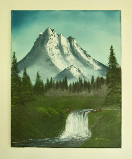 Mountains - Oil on Canvas - Bob Gordon Jones Art