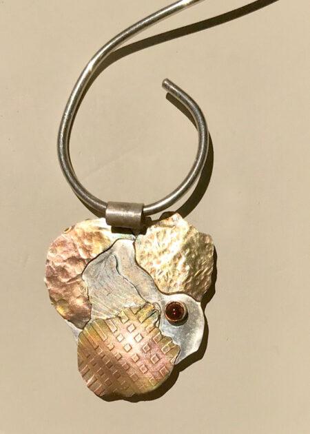 Multi Layers Pendant - Mary Page Jones Jewelry