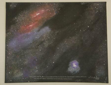 Nebula Oil on Canvas - Bob Gordon Jones Art