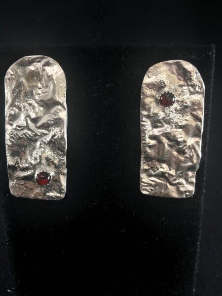 Peaks And Valleys Earrings - Mary Page Jones Jewelry