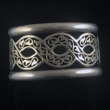 Petra Cuff. Sterling Silver Bracelet - Mary Page Jones Jewelry