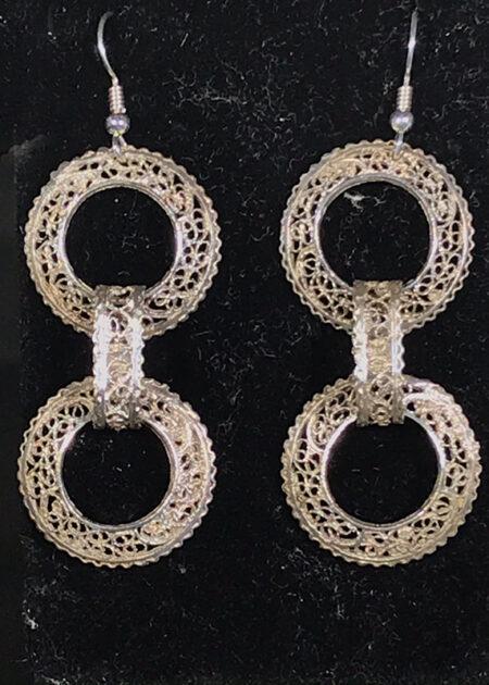 Petra Fillagree Earrings - Mary Page Jones Jewelry