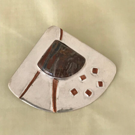 Repeat-Beloved Jasper Pendant. Mary Page Jones Jewelry