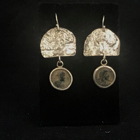 Roman Coin Earrings - Mary Page Jewelry