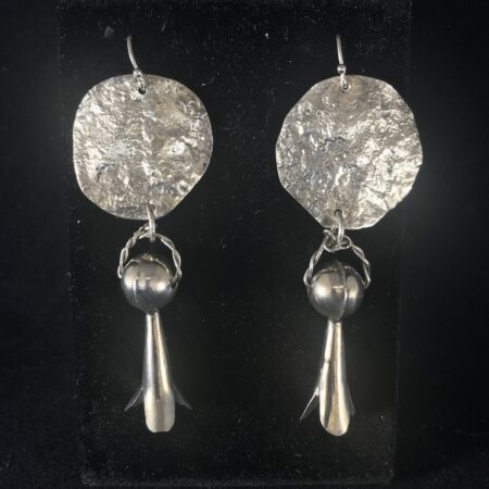 Squash Blossom Earrings - Mary Page Jones Jewelry