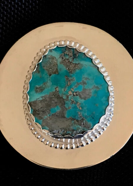 The Sound- Sterling Silver & Turquoise - mary Page Jones Jewelry