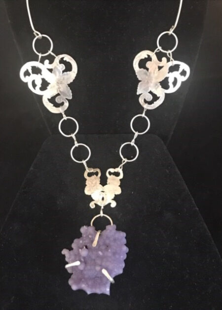 Manakarra Grape Agate Necklace - Mary Page Jewelry