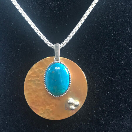 Mined Eilat Stone - Mary Page Jones Jewelry