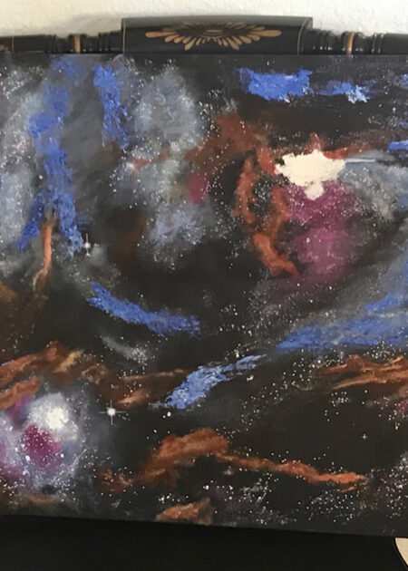 Birthing Stars Oil on Canvas - Bob Gordon Jones Art