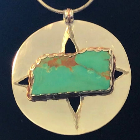 Compass Rose - Commissioned Pendant. Mary Page Jones Jewelry